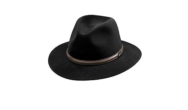 b0d60b25c0db1 Borsalino Laredo Fur Felt Hat at Amazon Men s Clothing store