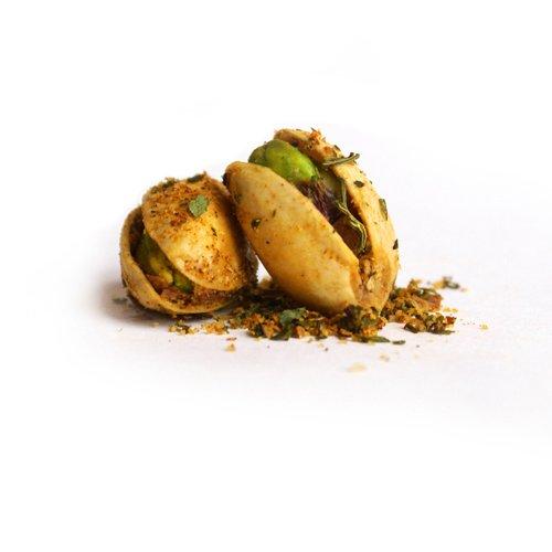 The Gilded Nut - Habanero Heat Pistachios, In Shell, Seasoned & Roasted - 1 Lb