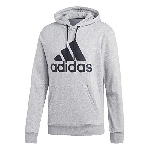 - adidas Men's Must Haves Badge of Sport Fleece Sport Pullover