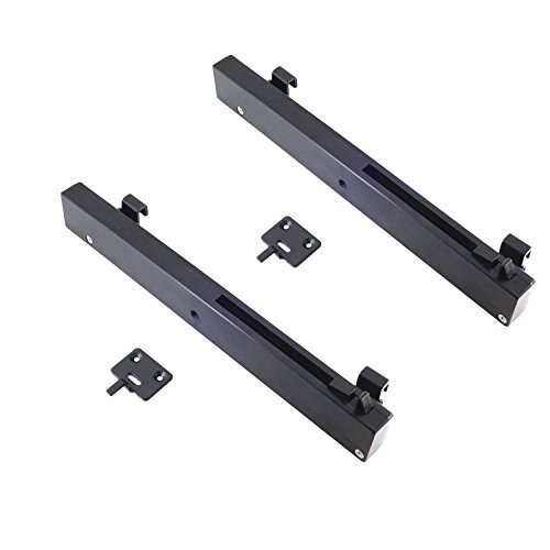 HOMACER Antique 2PCS (One for Each Side) Soft Close Mechanism Buffer Damper, Perfect for Sliding Barn Door Hardware Remission by HOMACER