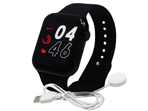 Relogio Smartwatch Inteligente Iwo 9 44 Mm Series 4 Multifun (Preto)