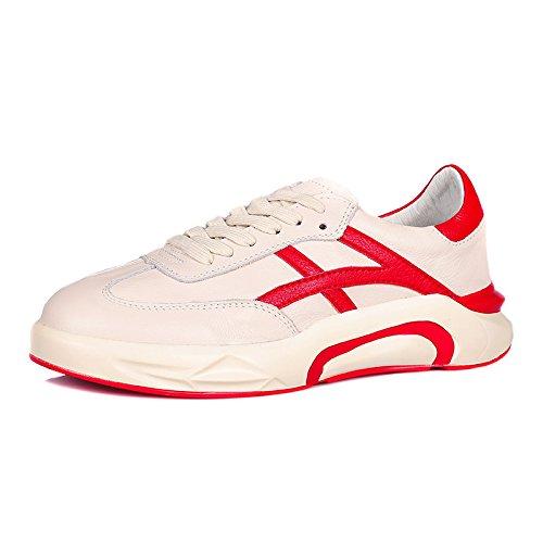 QQWWEERRTT Blanc Nouveau Étudiants rouge Décontractées Chaussures Augmenté Chaussures P111 Chaussures Universelles épais Fond 2 Mode Printemps TqrRW0aT