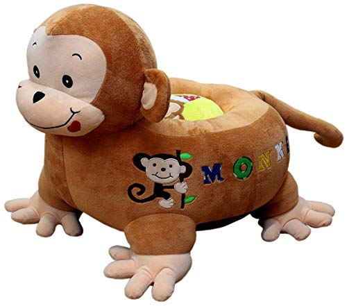 SillyMe Plush Baby Seat Sofa Chair for Babies  Monkey Seater