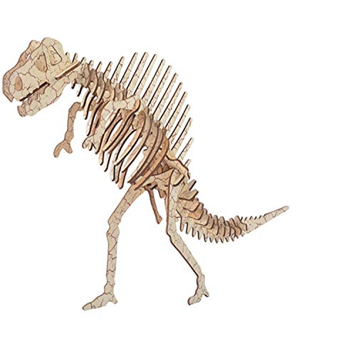 3D Wooden Simulation Animal Dinosaur Assembly Puzzle Model Educational Gift Toy for Kids and Adults #S030 Oray168