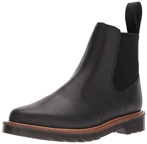 Dr.Martens Mens Hardy Leather Boots Schwarz