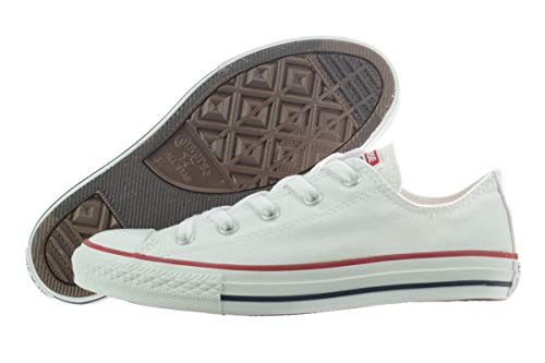 Converse Chuck Taylor All Star Canvas Low Top Sneaker Optical White 3 M US Little Kid
