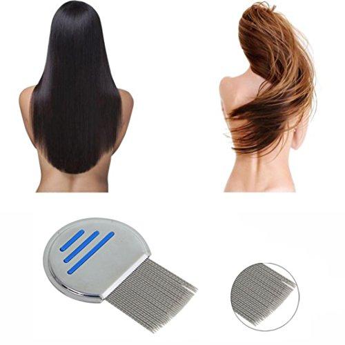 Price comparison product image Anshinto Terminator Lice Comb Hair Rid Headlice Metal Teeth