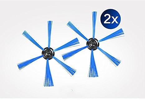 YTT 7 pz / lote aspiradora filtro hepa * 2 + cepillo redondo * 2 + paño de suelo * 3 para Philips Robot FC8820 FC8810 FC8066 accesorios robot: Amazon.es: ...