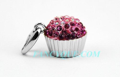 judith-leiber-sweetie-cupcake-pink-swarovski-crystal-charm-18k-gold-pltd-new-box