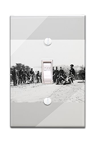 drewrys-bluff-va-gen-henry-abbot-and-staff-civil-war-photograph-light-switchplate-cover