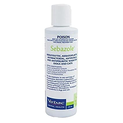 Virbac Sebazole Shampoo 250ml