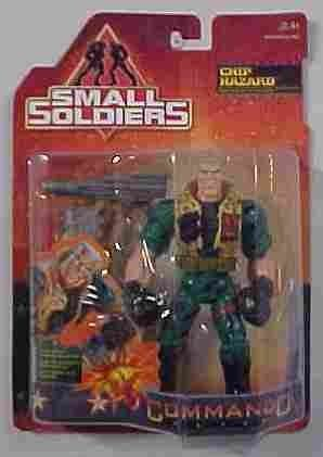 1998 Toy - Small Soldiers MAJOR CHIP HAZARD 6