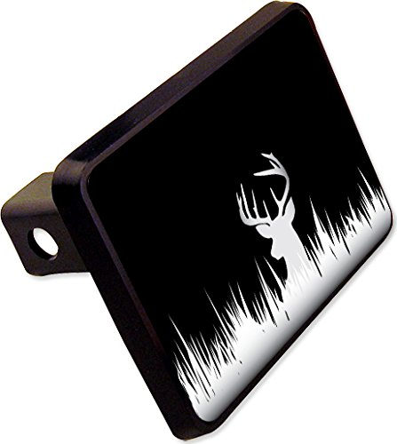 (Deer Silhouette Hunting Hitch Cover Plug Funny Novelty)