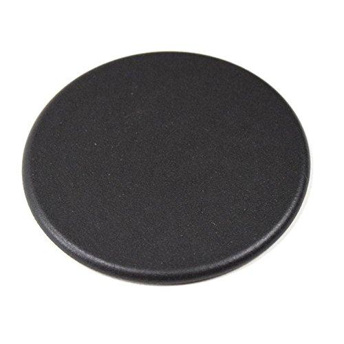 Frigidaire 316527704 Range Surface Burner Cap (Black) Genuine Original Equipment Manufacturer (OEM) Part for Frigidaire, Kenmore Elite, Kenmore, Electrolux, Crosley, Black (Cap Range Black Burner)