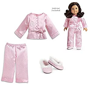 3bf5a15c89 Image Unavailable. Image not available for. Color  American Girl Ruthie s Satin  Pajamas