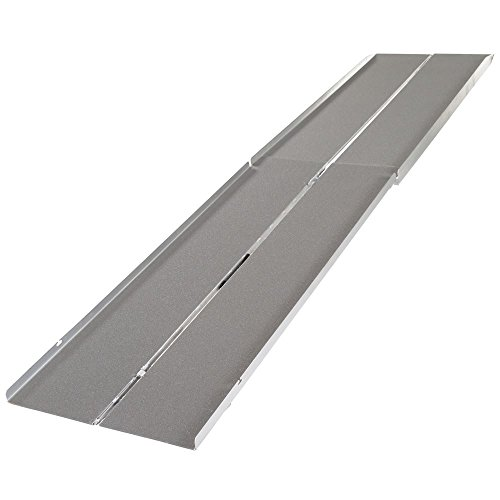 (Silver Spring WCMF-12 Aluminum Multi-Fold Wheelchair Ramp -12' Long)
