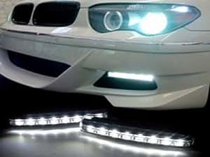 Euro Style 8 LED DRL Daytime Running Light Kit For FORD Ranger