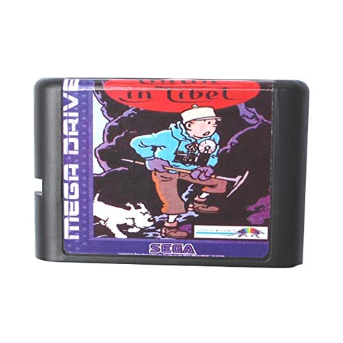 ROMGame Tin Tin In Tibet 16 Bit Md Game Card For Sega Mega Drive For Genesis