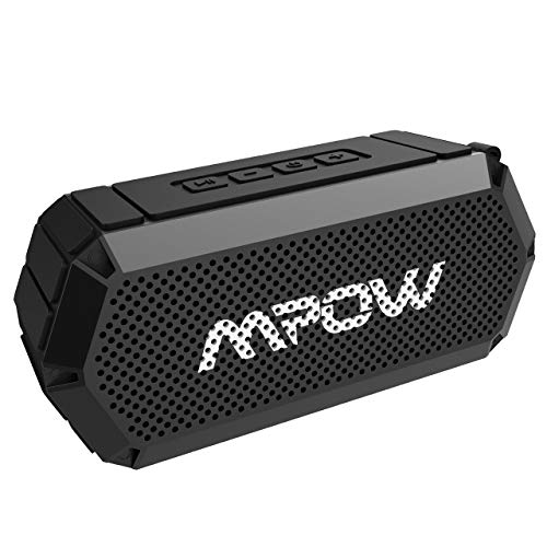 Mpow Portable Bluetooth Speaker, Bluetooth 4.0 Wireless Speaker Waterproof Speaker with Water Resistant IP65, Outdoor Portable Stereo speaker for the Beach, 5W Driver, Rich Bass for Car/Phone (Blue)