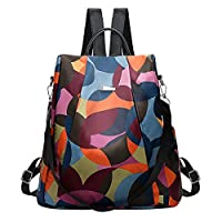 ABage Women Fashion Backpack Casual Purse Waterproof Anti Theft Oxford Lightweight Shoulder Bag for Travel, Camo