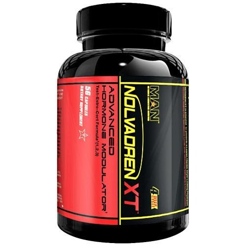 MAN Sports Nolvadren Xt Capsules, 56 Count