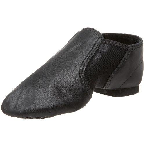 [Dance Class GB100 Leather/Spandex Gore (Toddler/Little Kid/Big Kid),Black,2 M US Little Kid] (Mens Jazz Shoes)