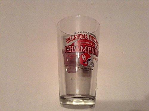 2014 Allstate Sugar Bowl Glass Oklahoma Sooners