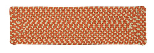 "Montego MG29 Stair Tread (Set of 13), 8"" by 28"", Tangerine"