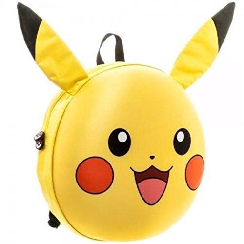 Oficial-Pokemon-Pikachu-3D-carcter-moldeado-bolsa-mochila-escolar-Go-Nintendo
