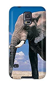 Flexible Tpu Back Case Cover For Galaxy S5 - Cage The Elephant