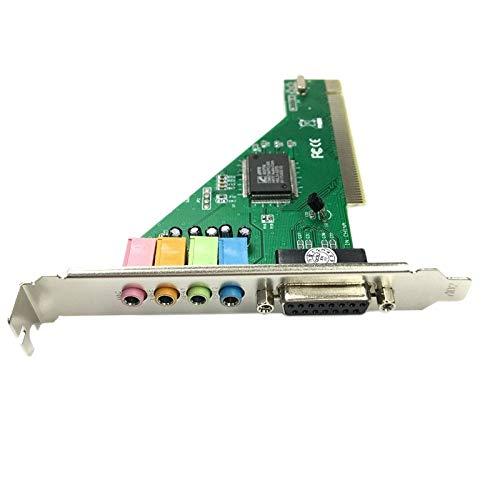 Beada CMI8738 chipset stereo geluid PCI aansluiting audiokaart ondersteunt 2 / 4CH en DLS met aandrijving CD voor…