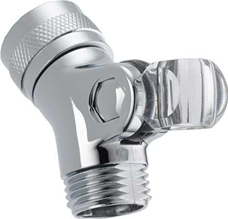 DELTA FAUCET U4002-WH-PK Pin Mount Swivel Connector for Handshower White