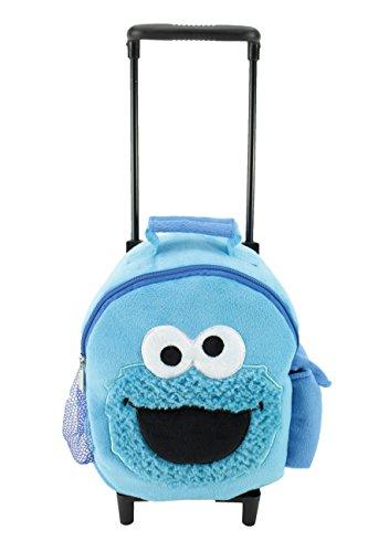 Animal Adventure Jolley TrolleyPlush BackpackSesame StreetCookie Monster5 x 10
