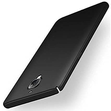 online retailer 53924 3fa39 Kapa Silk Smooth Finish [Full Coverage] All Sides Protection Slim Back Case  Cover for Oneplus 3 / 3T - Black