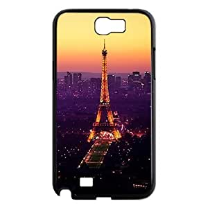 Custom Eiffel Tower Hard Back Cover Case for Samsung Galaxy Note 2 NT872