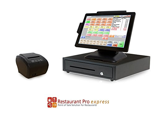 Restaurant Point of Sale System - Includes Touchscreen PC