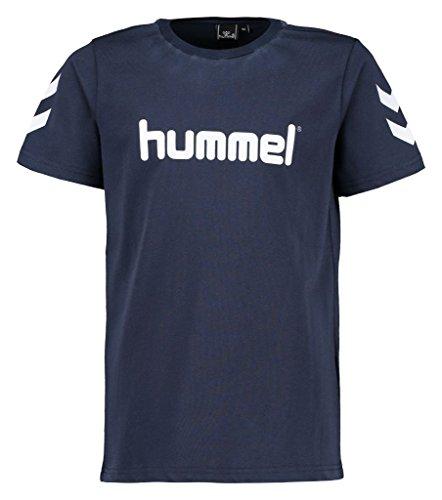Hummel Jungen Jaki SS Tee AW16 T-Shirt, Total Eclipse, 140
