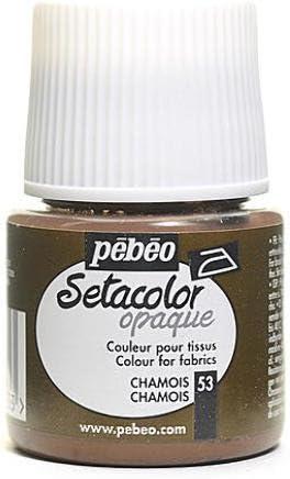 Pebeo Setacolor - Pintura de tela opaca (gamuza) 2 piezas Sku ...