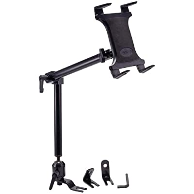 Arkon Heavy Duty Car or Truck Seat Rail Tablet Mount with 22 inch Arm for iPad Pro iPad Air 2 Galaxy Note 10.1