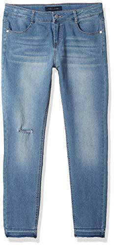 Tommy Hilfiger Big Girl's Big Girls' Skinny Stretch Denim Jean Pants, blue haze, -