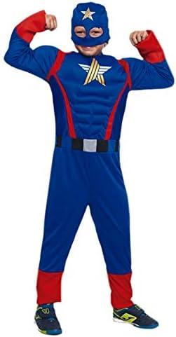 Disfraz Superhéroe Star (7-9 años) (+ Tallas) Carnaval Superhéroes ...