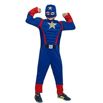 Disfraz Superhéroe Star (7-9 años) (+ Tallas) Carnaval ...