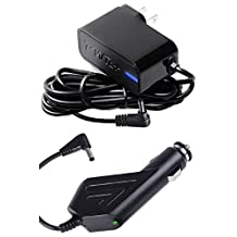 [UL Listed] Pwr+ Combo AC Adapter + Car Charger for Bose SoundLink Mini 359037-1300, 371071-0011; Bose SoundDock XT 626209-1300; PSA10F-120 Bluetooth Speaker DC Wall Plug Power Supply Cord: (Check Compatibility Photo)