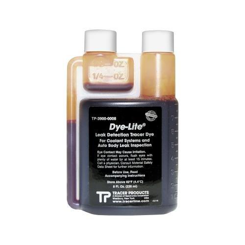 Tracer Dye-Lite Coolant/Auto Body Dye, 8 oz. (TP3900-0008)