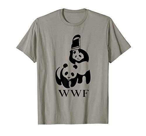 MMA, Fight, Panda Tee | Wrestling T-Shirt
