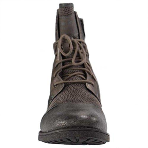 Biker Mustang Femmes 603 Boots Gris 1229 qwz76