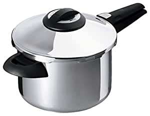 Kuhn Rikon Duromatic Top Model Energy Efficient Pressure Cooker - 5.3-Qt