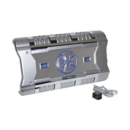 Brand-X XFLSQ588X2 588-Watt 2-Channel Mosfet Amplifier with Digital  Voltage/Amperage Display