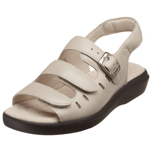 Propet Women's W0001 Breeze Walker Sandal,Dusty Taupe Nubuck,9 N (US Women's 9 AA) - Breeze Womens Sandals