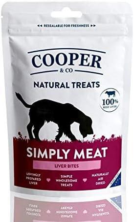 Cooper & Co Simply Meat Hígado mordeduras 100g: Amazon.es ...